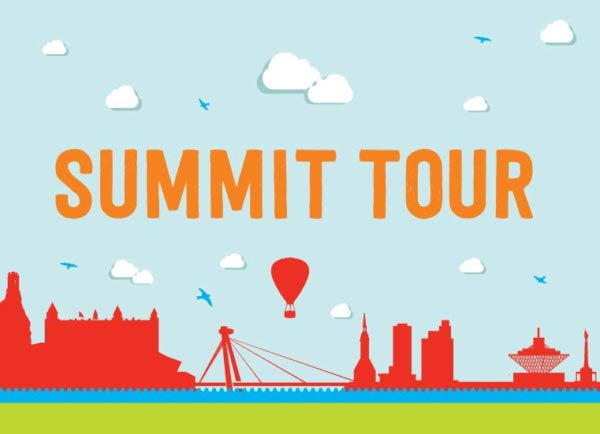 SUMMIT TOUR Korporátna identita BSK mlv.sk animacie video grafika reklamne studio ilustracia